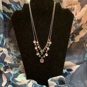 Lia Sophia Double Layered Necklace
